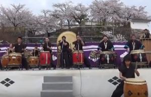 信玄公祭り 和太鼓