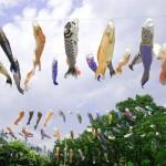 こどもの日の由来。鯉のぼりや兜の意味。柏餅や菖蒲湯は?
