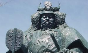 武田信玄 銅像