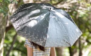 日よけ傘 女性