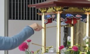 花祭り お釈迦様の像