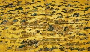 上杉博物館 上杉本洛中洛外屏風