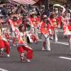 ひろしまフラワーフェスティバル パレード よさこい