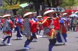ひろしまフラワーフェスティバル パレード