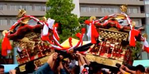 ひろしまフラワーフェスティバル けんか神輿