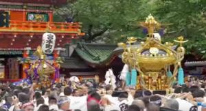 神田祭 宮入り 神輿