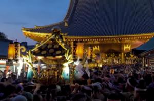 浅草三社祭 神輿連合渡御