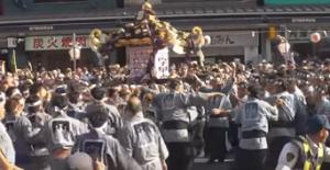 浅草三社祭 本社神輿渡御