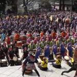 成田太鼓祭2020の日程とスケジュール!千願華太鼓やパレードは?有料席は?