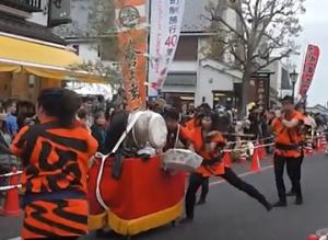 成田太鼓祭 太鼓パレード
