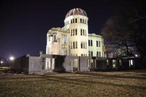 原爆ドーム ライトアップ