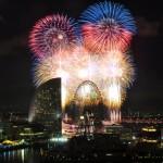 横浜開港祭花火2017の日程と時間。穴場の場所や有料席は?