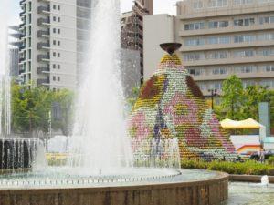 ひろしまフラワーフェスティバル 花の塔