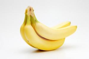 置いたバナナ
