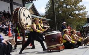 成田太鼓祭 和太鼓演奏