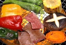 バーベキュー 野菜 お肉
