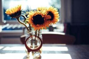 花瓶 ひまわり