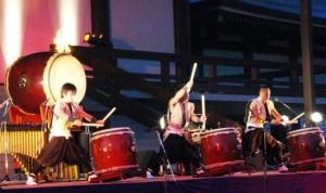 成田山千年夜舞台 成田太鼓祭