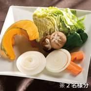 バーベキュー 野菜 2人分