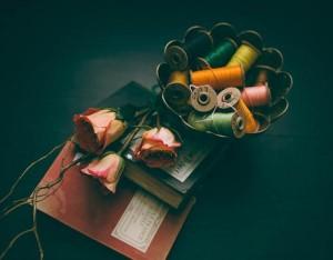 バラ 本 裁縫糸