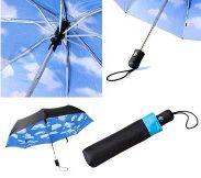 内側 柄 折りたたみ傘