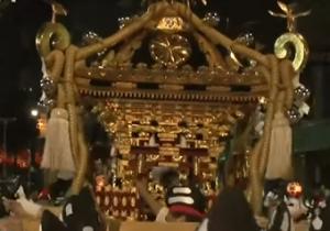 くらやみ祭り 神輿