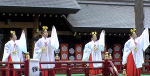 北海道神宮例祭 札幌まつり 雅楽