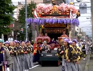 北海道神宮例祭 札幌まつり 神輿渡御