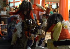 富山 山王祭 獅子舞