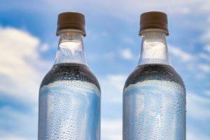 冷えている炭酸ペットボトル