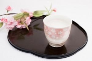 甘酒 桜の花