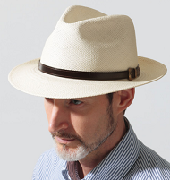 メンズ パナマ帽 選び方