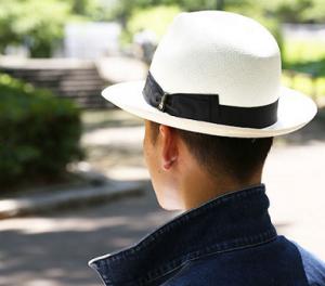 パナマ帽 ボルサリーノ