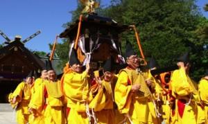 北海道神宮例祭 神輿渡御