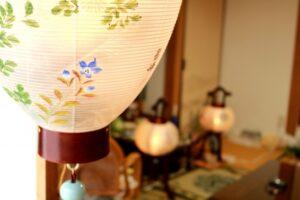 盆提灯 仏壇
