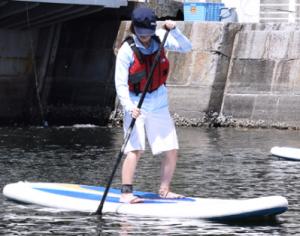横浜開港祭 SUP体験