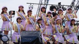 横浜開港祭り 親善大使 ダンス