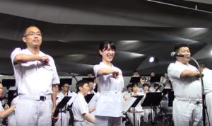 横浜開港祭 海上自衛隊 音楽演奏