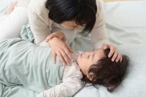 子供 お昼寝 母親