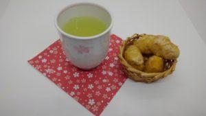生姜湯と生姜