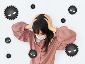 風邪 女の子 マスク ウイルス