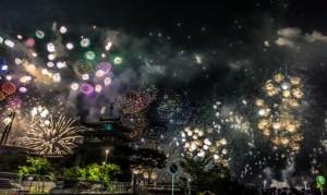 琵琶湖花火大会 城