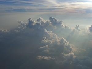 空 雲 陽の光