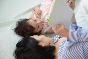子供 ママ お昼寝 絵本