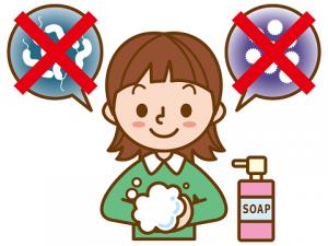 食中毒 予防 手洗い