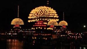 尾張津島天王祭 宵祭