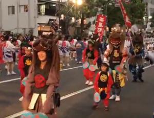 倉敷天領夏祭り パレード