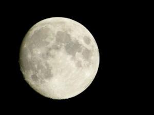 くっきり大きい月