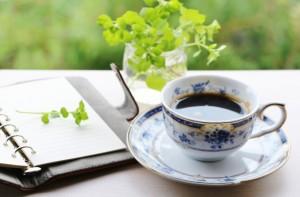 コーヒー 手帳