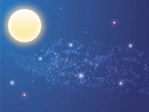 夜空 満月